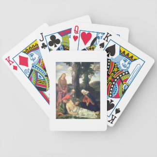 The Lamentation of the Dead Christ Poker Deck