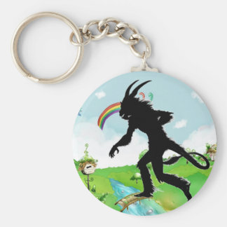 The Lamia Invades Happy Land Keychains