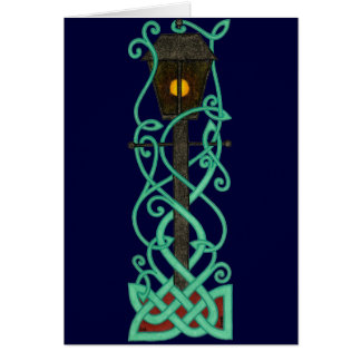 The Lamppost card