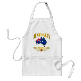 """The Land Down Under"" Standard Apron"