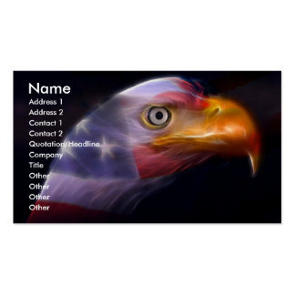 The Land of the Free, Home of the Brave Business Card Template