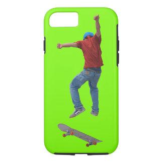 The Landing - Deck-flipping Skateboarder iPhone 8/7 Case