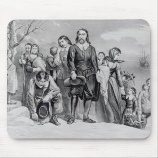 The Landing of the Pilgrims Mouse Pad
