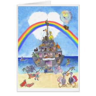 The Landing Party II, Noah's Ark Card