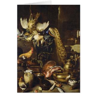 The Larder By Antonio Maria Vassallo Greeting Cards