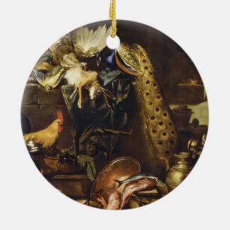 The Larder By Antonio Maria Vassallo Round Ceramic Decoration