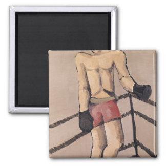 The Large Boxer Fridge Magnet