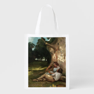 The Large Oak Reusable Grocery Bags