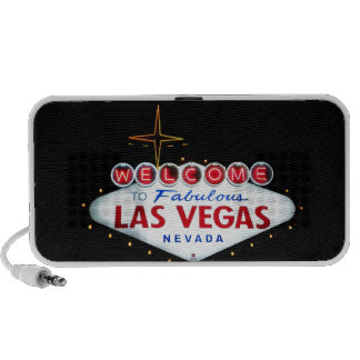 The Las Vegas Sign - Welcome To Fabulous Las Vegas Portable Speaker