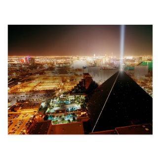 The Las Vegas Strip in Las Vegas, Nevada Postcard