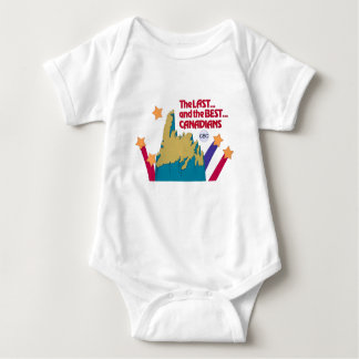 The Last and the Best Canadians - promo graphic Baby Bodysuit