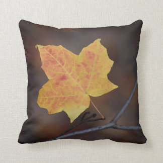 The Last Autumn Leaf Cushion