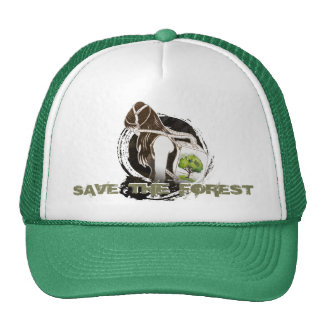 The Last Breath on Earth(SAVE THE FOREST) Cap
