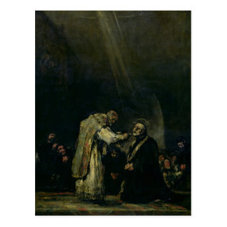 The Last Communion of St. Joseph Calasanz Postcard