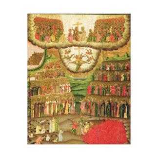 The Last Judgement 1721 Stretched Canvas Prints