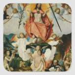 The Last Judgement 4 Square Sticker