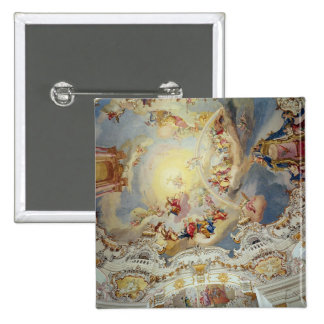 The Last Judgement ceiling painting Pin