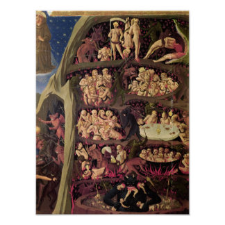 The Last Judgement, detail of Hell, c.1431 Poster