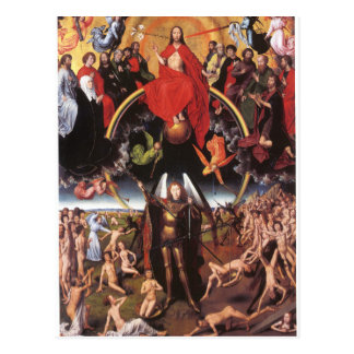 The Last Judgement. Hans Memling; c. 1467-1471 Postcard