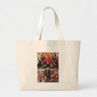 The Last Judgement. Hans Memling; c. 1467-1471 Jumbo Tote Bag