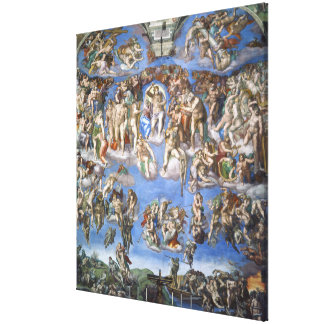 The Last Judgment Canvas Print