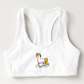 The Last Llamacorn Sports Bra