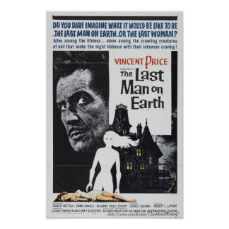 """""""The Last Man on Earth"""" (1964) Movie Poster"""