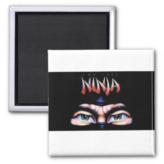 The Last Ninja Magnet