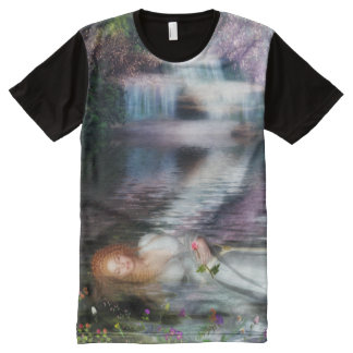 The Last Repose of Ophelia All-Over Print T-Shirt