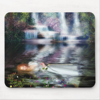 The Last Repose of Ophelia Mouse Pad