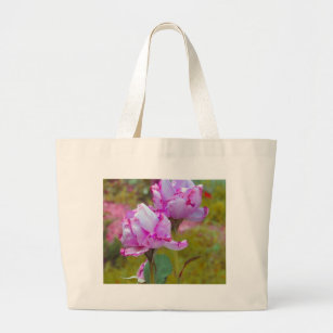 The Last Roses of Fall Large Tote Bag