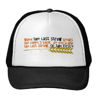 The Last Straw Trucker Hat