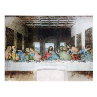 The Last Supper by Da Vinci Postcard
