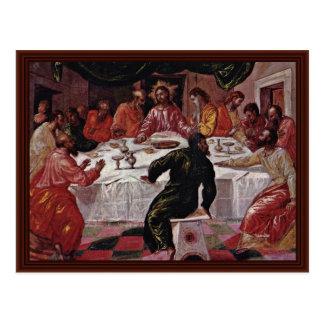 The Last Supper By Greco El Postcard