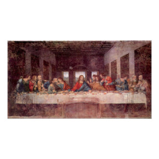 The Last Supper by Leonardo da Vinci, Renaissance Poster