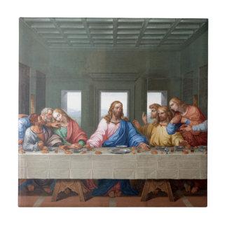 The Last Supper by Leonardo da Vinci Tile
