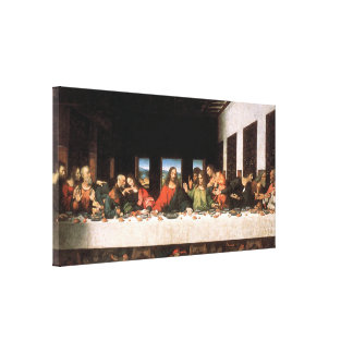 The Last Supper Canvas Print