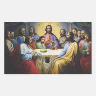 The Last Supper Jesus Christ Stickers