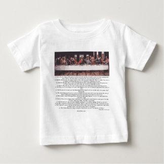 The Last Supper - Matthew 26:17-30 Infant T-Shirt