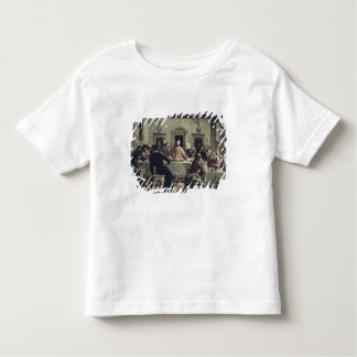 The Last Supper (oil on canvas) 2 Toddler T-Shirt