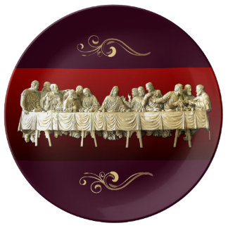 The Last Supper Porcelain Plate