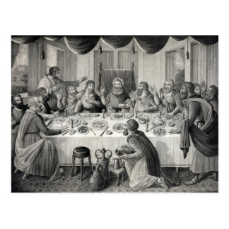 """The Last Supper"" postcard"