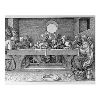 The Last Supper, pub. 1523 Postcard