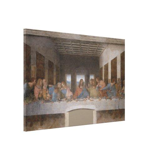 The Last Supper / Última Cena by Leonardo da Vinci Gallery Wrap Canvas