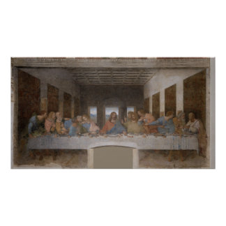 The Last Supper Última Cena by Leonardo da Vinci Poster
