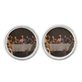 The Last Supper with Disciples Cuff Links