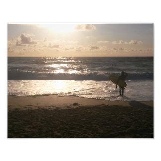 The Last Wave Surfer Art Photo