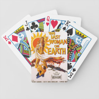 The Last Woman on Earth Bicycle Playing Cards