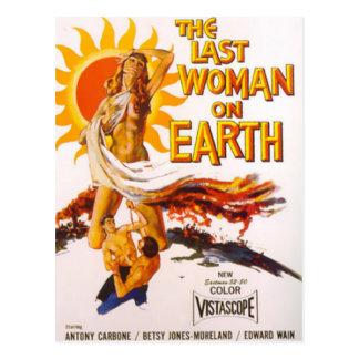 The Last Woman on Earth Postcard