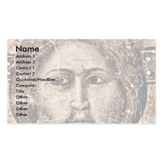 The Latest Detailed Court: Christ By Cavallini Pie Business Card